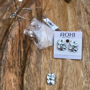 Necklace & matching earrings, low price!